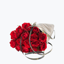 Red Roses, Gift Wrapped